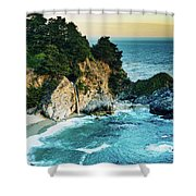 Mcway Waterfall Shower Curtain