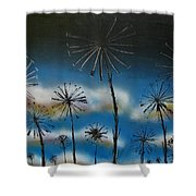 Meadow At Dawn Shower Curtain