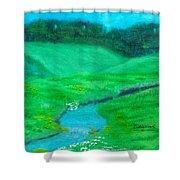 Meadow Beauty Shower Curtain
