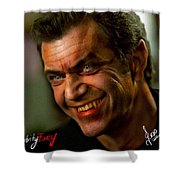 Mel Gibson Shower Curtain