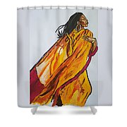 Melanie Fiona Shower Curtain