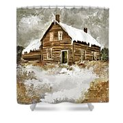 Memories Of Winters Past Shower Curtain