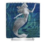 Mermaid - Beneath The Waves Series Shower Curtain