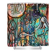 Mermaids Dream Shower Curtain