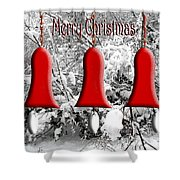 Merry Christmas 2 Shower Curtain