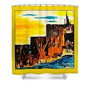 Mesa Grande Country Shower Curtain