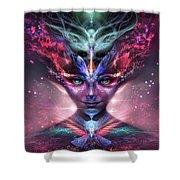 Metamorphoses Shower Curtain