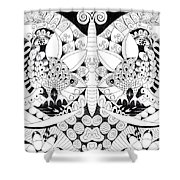 Metamorphosis Arrangement 1 Shower Curtain