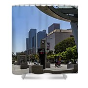 Metro Station Civic Center Los Angeles Shower Curtain