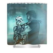 Metropolis Revisited  Shower Curtain