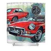 Mg Bgt Shower Curtain