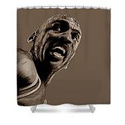 Michael Jordan - Practice Shower Curtain