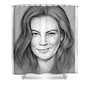 Michelle Monaghan Shower Curtain