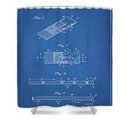 Microscope Slide Patent Shower Curtain