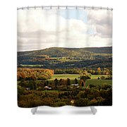 Middleburg In New York Shower Curtain