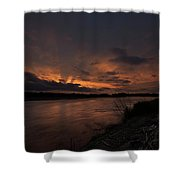 Mighty James  Shower Curtain