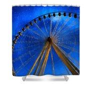 Milky Way Ride Shower Curtain