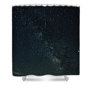 Milkyway Over Grandfather Shower Curtain by Meta Gatschenberger