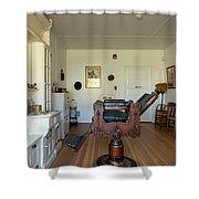 Milner Barbershop - Allensworth State Park Shower Curtain