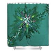 Mind #07 Shower Curtain