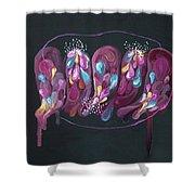 Mind #08 Shower Curtain