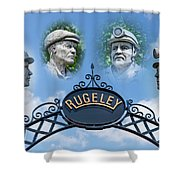Miners Of Rugeley Shower Curtain