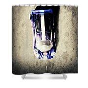 Mini Racer Shower Curtain