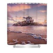 Miramar Beach Chapel Shower Curtain