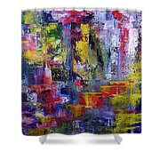 Mirrored Steps Shower Curtain