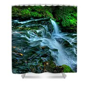 Misty Falls - 2976 Shower Curtain