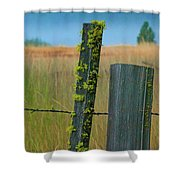 Misty Morning Moss Shower Curtain