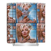 Mm Diva 127 Six Shower Curtain