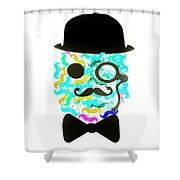 Moeicature Shower Curtain