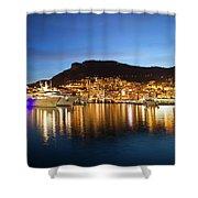 Monaco At Twilight Shower Curtain