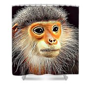 Monkey 2 Shower Curtain