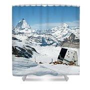 Monte Rosa Shower Curtain