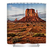 Monumental Butte Shower Curtain