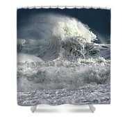 Moody Ocean Shower Curtain