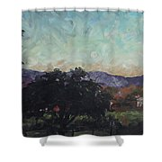 Moonlight Ranch Shower Curtain