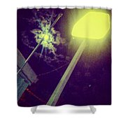 Moonsign Shower Curtain