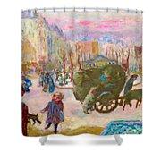 Morning In Paris - Digital Remastered Edition Shower Curtain