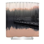 Morning March Shower Curtain