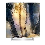 Morning On The Murray Shower Curtain