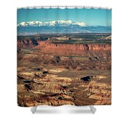 Morning Over Canyonlands Shower Curtain