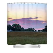 Morning Skies Over Gettysburg Shower Curtain