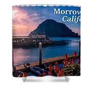 Morrow Bay California Shower Curtain