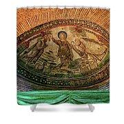 Mosaics Of Mausoleo Shower Curtain