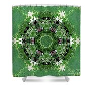 Mossy Green Shower Curtain