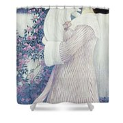 Mother And Child By Wilhelm List Shower Curtain