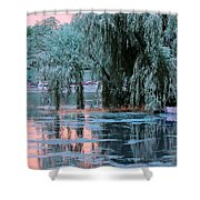 Mother Willow Infrared Shower Curtain